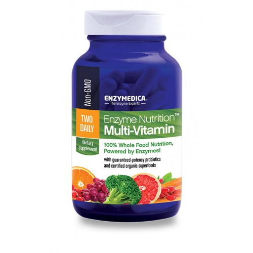 Enzymedica Enzyme Nutrition Two Daily Multi-Vitamin 60 Capsules
