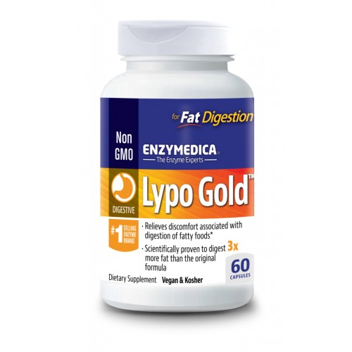 Enzymedica Lypo Gold 240 Capsules