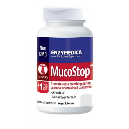 Enzymedica MucoStop 48 Capsules